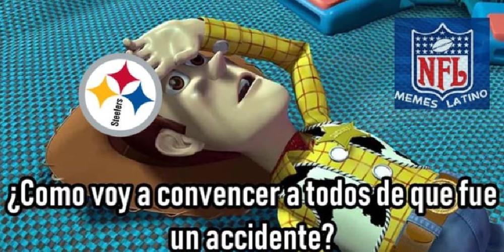 Los mejores memes de la derrota de los Steelers