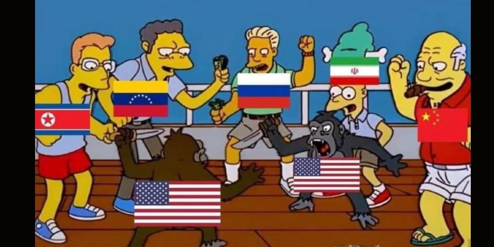 """Los memes de la """"toma"""" del Capitolio"""