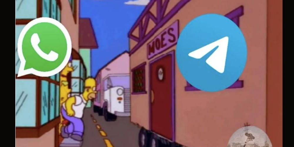 Los memes del 'adiós' a WhatsApp y la llegada a Telegram
