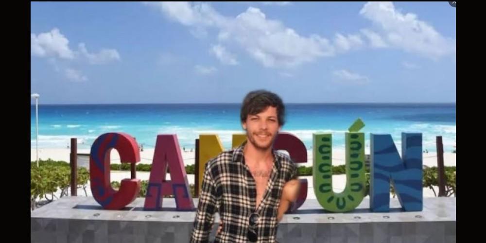 """Los memes de la """"visita"""" de Louis Tomlinson a Cancún"""