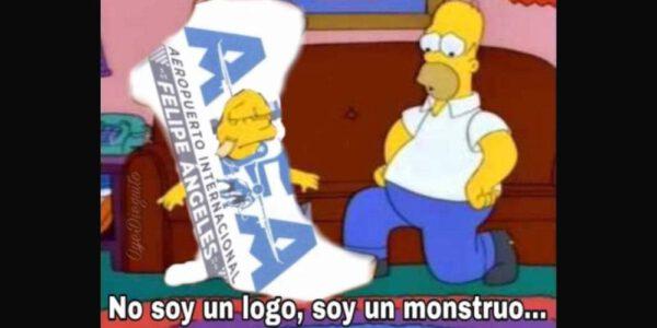 Los memes del logo del Aeropuerto Felipe Ángeles
