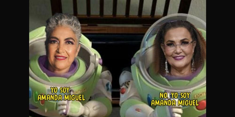 Los memes del nuevo look de Amanda Miguel