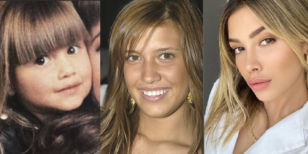 Así ha cambiado Michelle Salas en sus 31 años