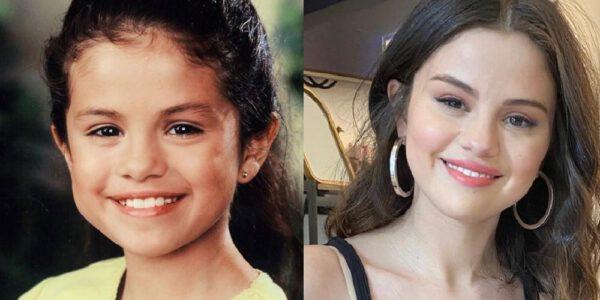 Así se veían los famosos cuando eran niños