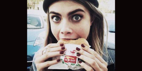 Celebridades que aman la comida rápida