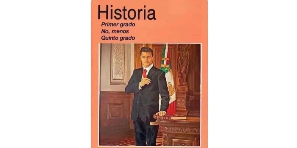 Los memes de los libros de texto de la SEP