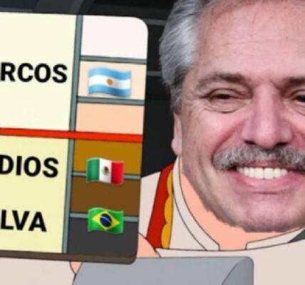 """Los memes de Alberto Fernández y los """"indios"""" mexicanos"""