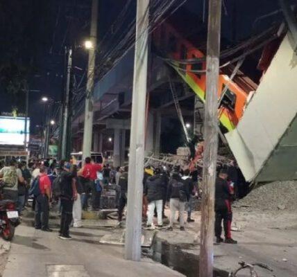 Tragedias que han ocurrido en el Metro de la CDMX